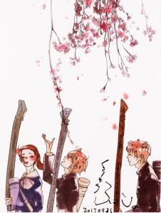 マンガ大賞『花に染む』